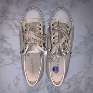 BNWT COACH EMPIRE ZIPPER LACE UP SNEAKERS